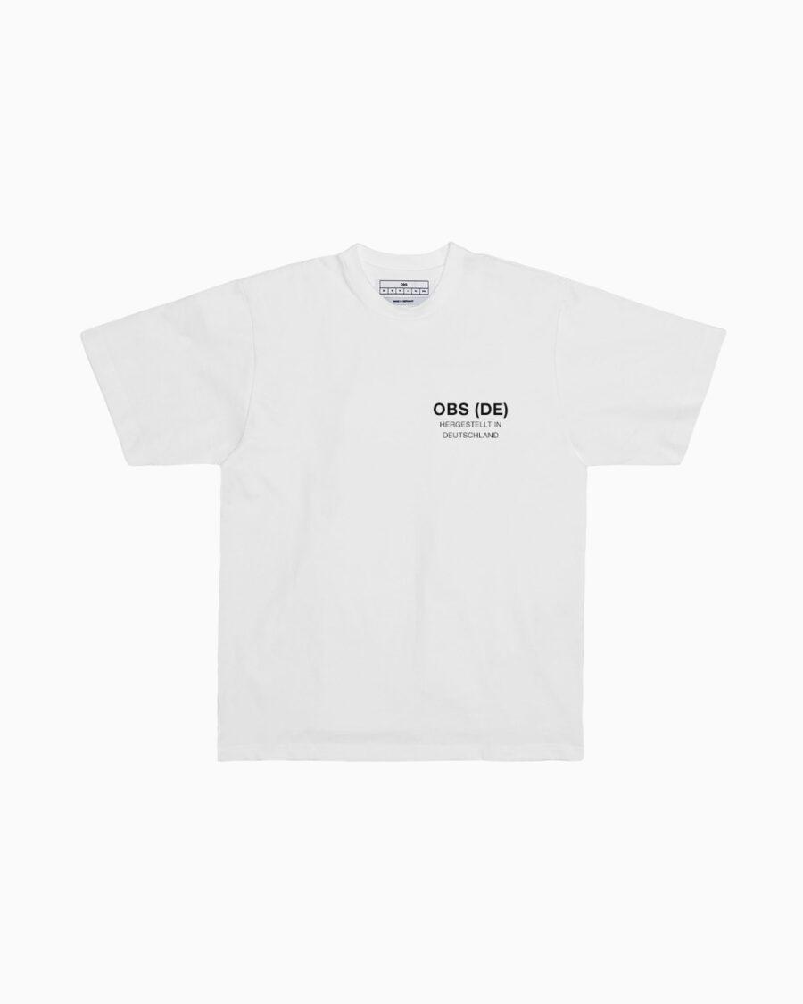 OBS (DE) Hergestellt in Deutschland T-Shirt / Small Black Logo